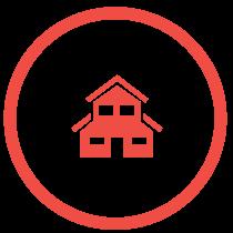 Haus Icon rot