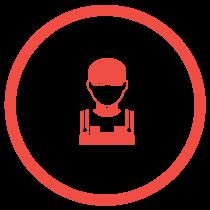 Handwerker Icon